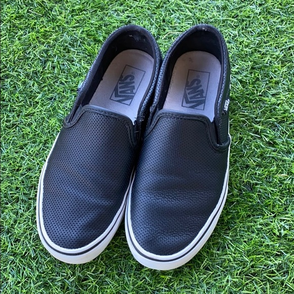 Vans Shoes   Asher Perforated Slipon